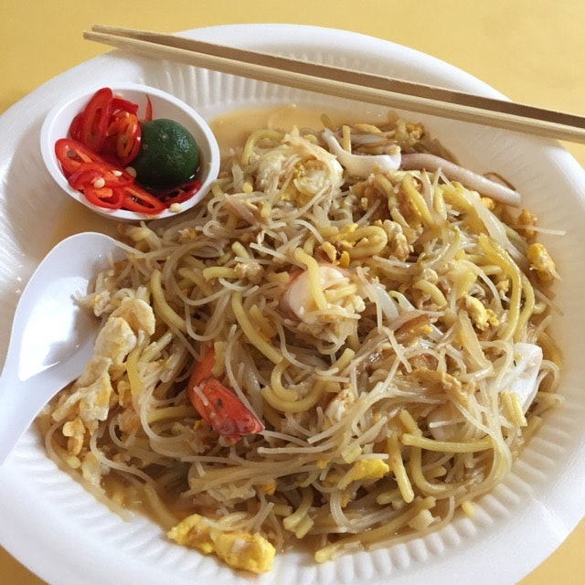 A Hokkien Mee With A Signature Style ($3)