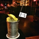 """Obviously gunning for Quentin Tarantino, the """"Mango Unchained"""" cocktail was more M. Night Shyamalan. In his later years."""