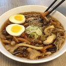 "Mushroom Soba from ""Yen Soba Udon & Ramen"" ($6.80)"