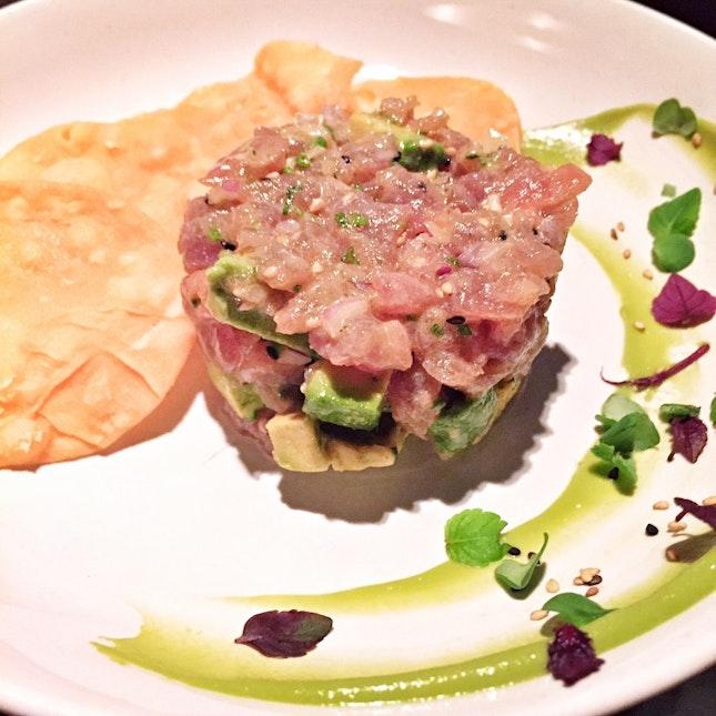 Wasabi Tuna Tartare ($22++)