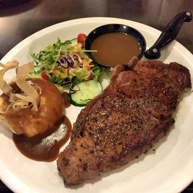 Wagyu Steak ($29 before tax)