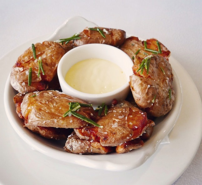 To-die-for Rosemary-fried Potatoes ($14++)