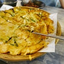 Seafood & Green Onion Pancake ($25++)