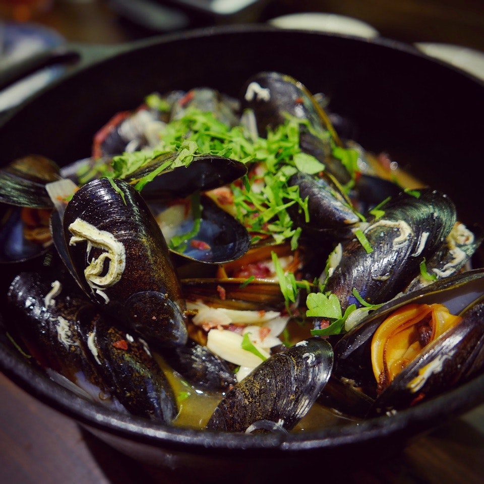 Norwegian Blue Mussels ($25++)