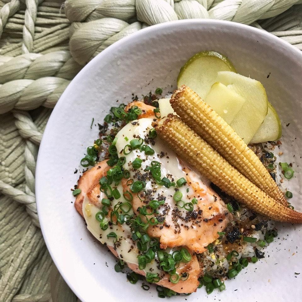 Yuzu Grilled Salmon Don ($12.90)