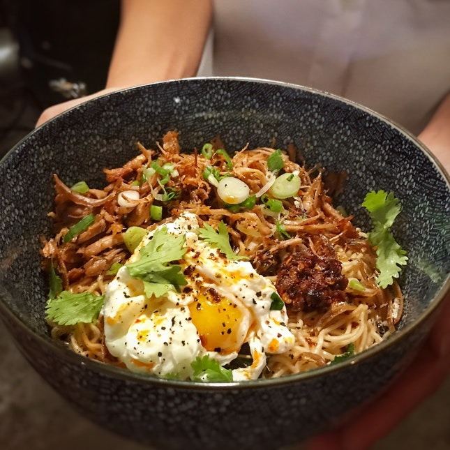 I Love This Pulled Pork Kolo Mee ($14+)