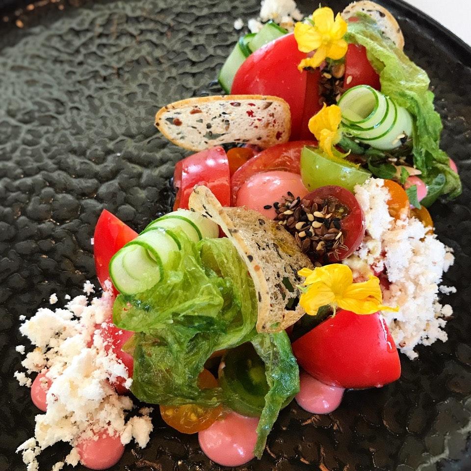 A Salad That Celebrates Japanese Ingredients