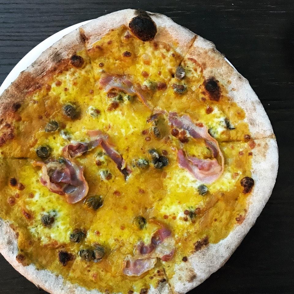 The Mantovana Pizza ($18.80++)