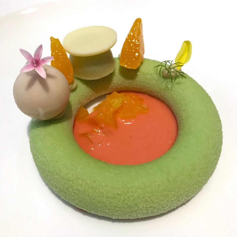 The Sicilian Pistachio Parfait At One Michelin Starred Bacchanalia Is Incredible
