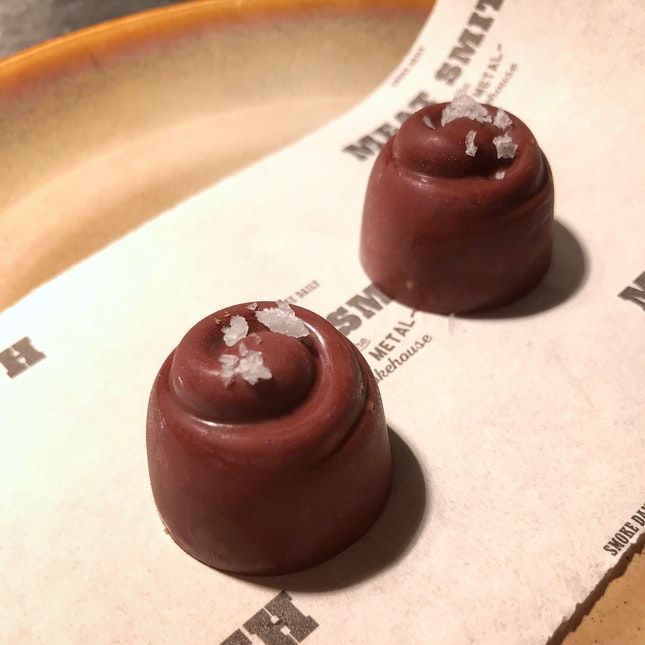 Smoked Peanut Butter Chocolates (2 for $3+)