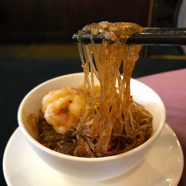 Prawns with Glass Noodles