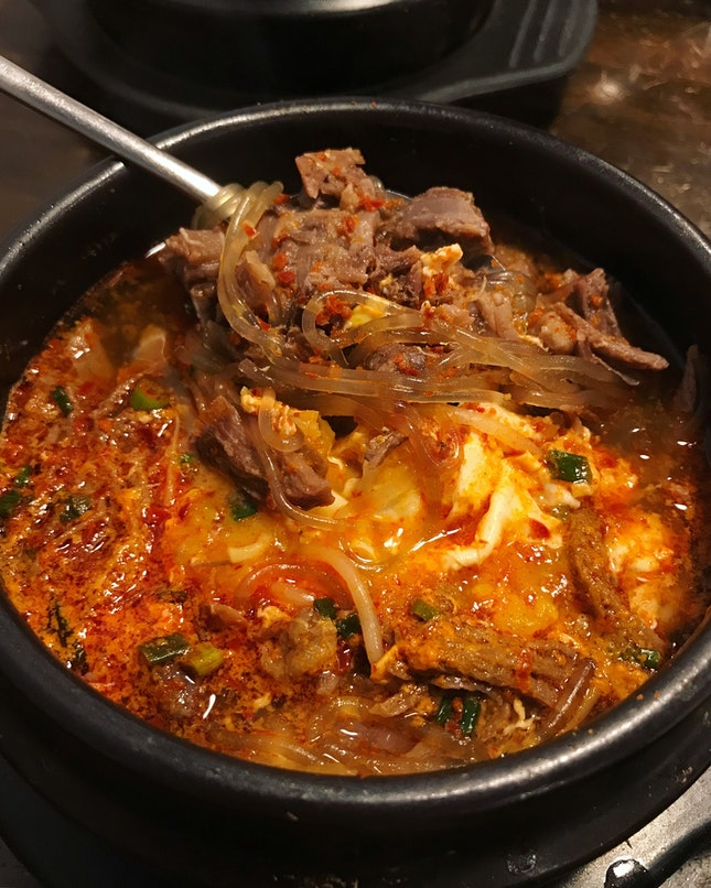 Spicy Beef Soup (Price: $14.90+)