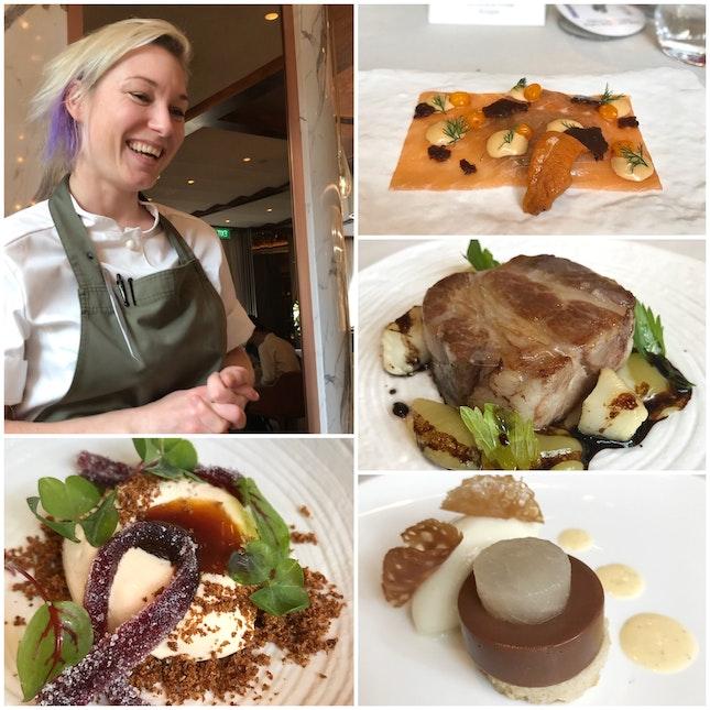 Four Hands Pop-up: 2 Michelin Starred Aquavit New York's Chef Emma Bengtsson X Chef Benjamin Halat