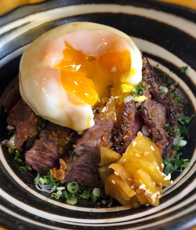 NEW Lunch Menu: Wagyu Beef Don Set ($18.90++)