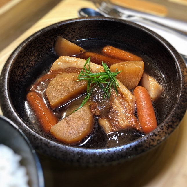 Buta Kakuni or Braised Pork Belly ($15 nett)