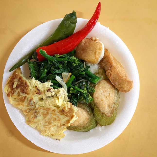"""Tasty """"Chap Chye Png"""" From Stall #02-020"""