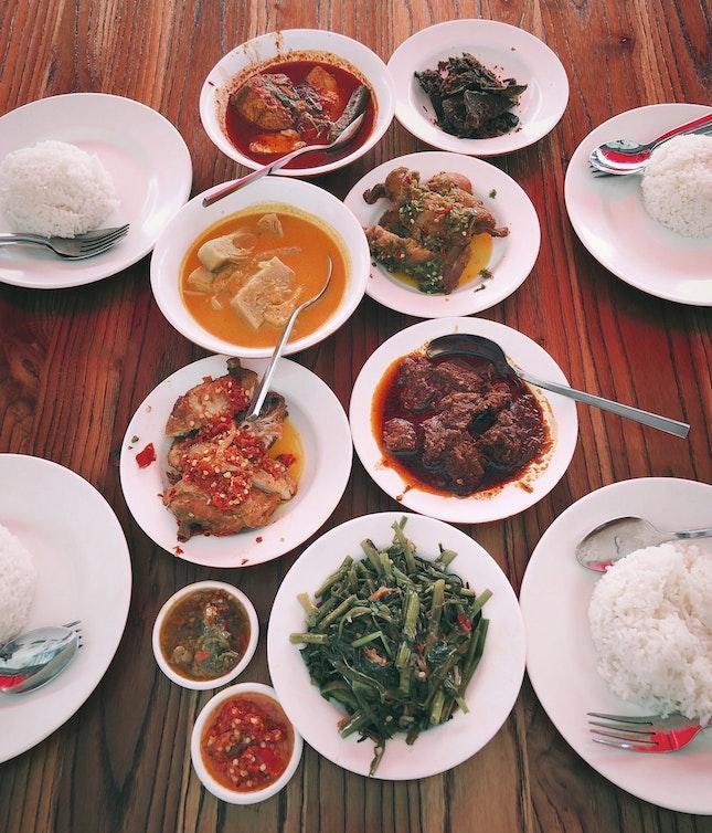 My Family's Preferred Nasi Padang Spot In Kampong Glam
