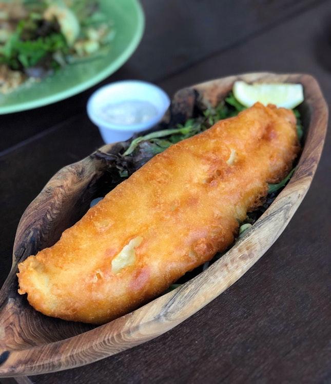 "Fish & Chips"" ($23++)"