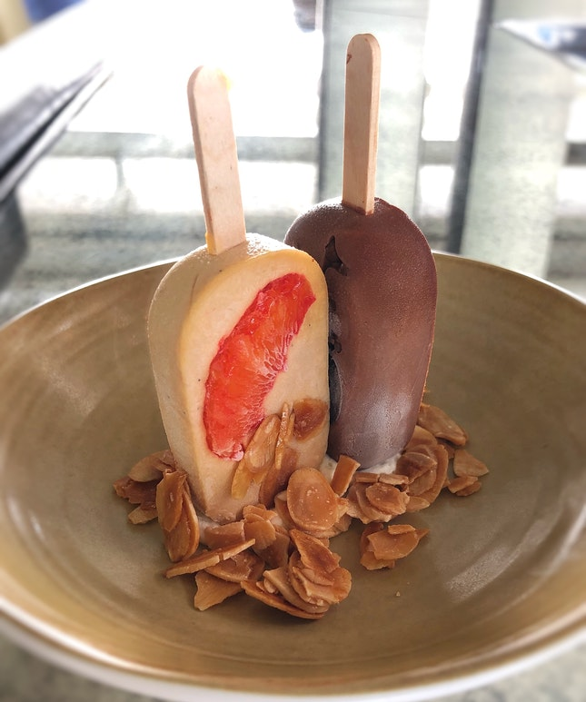 Kulfi Pops ($16++ for a pair)