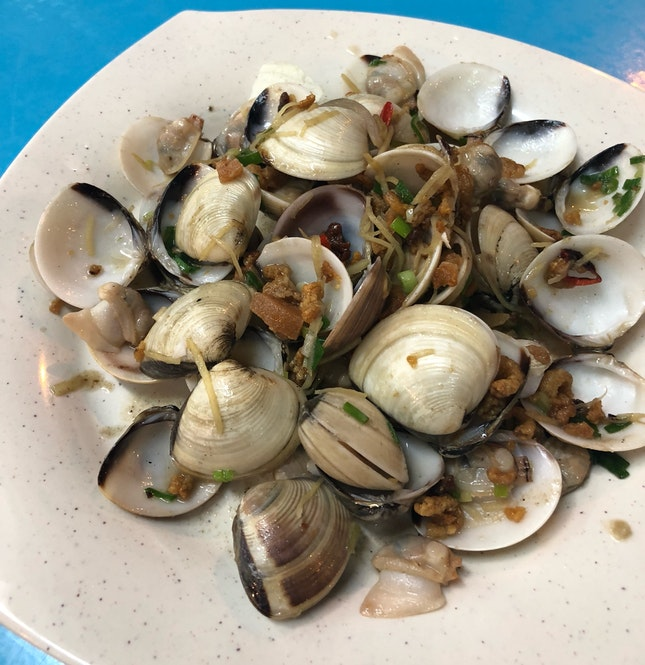 Tasty Flavour But Let Down By The Small Clams Used