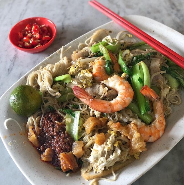 Fried Mee Sua ($5)