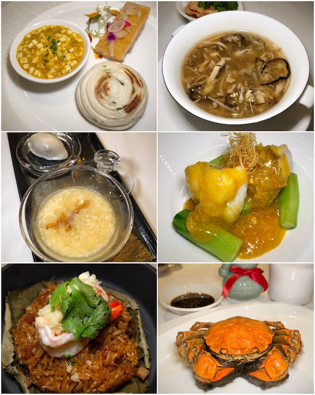 The Hairy Crab Set Menu ($208++) Is A Fine Way To Indulge In The Seasonal Special