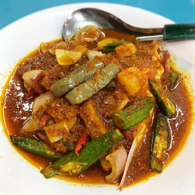 Assam Fish Head With A Very Appetising Gravy
