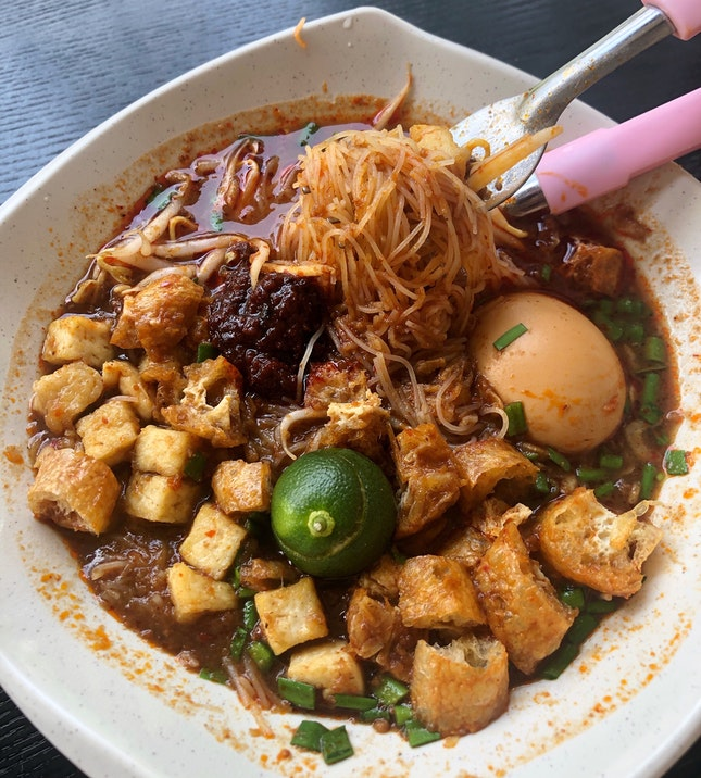 The Mee Siam I Like The Most Right Now