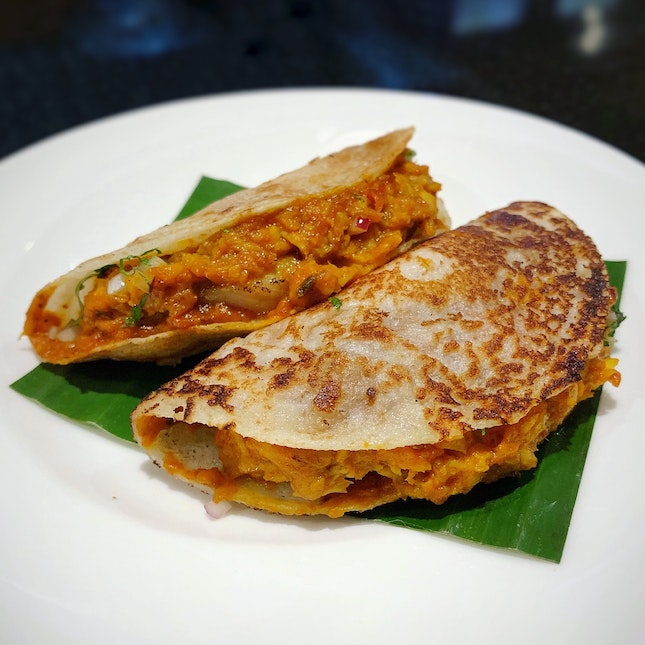 Mackerel Dosai (2 for $14++)