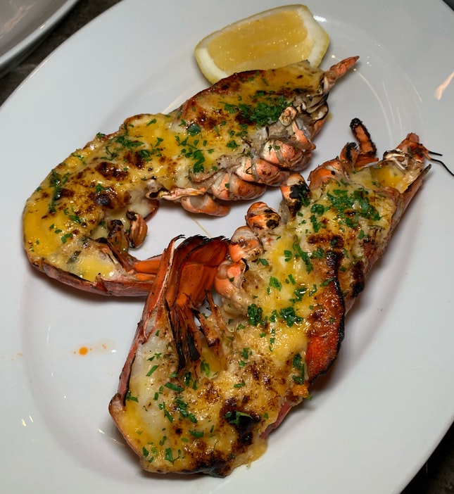 Boston Lobster Thermidor ($88++)