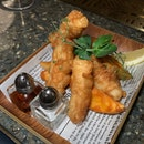 Aptly Done Fish And Chips For Pairing With Drinks ($18++)