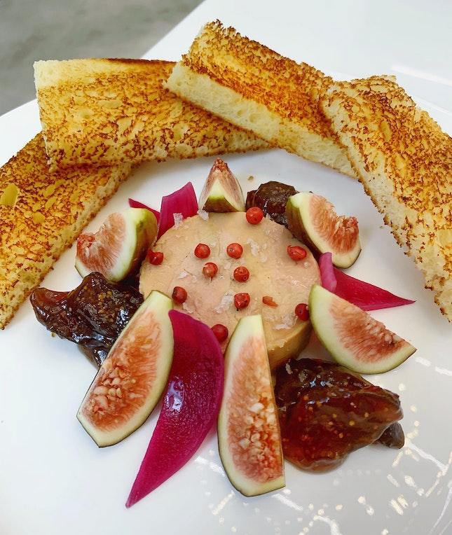 Castaing Foie Gras Au Torchon ($32++)