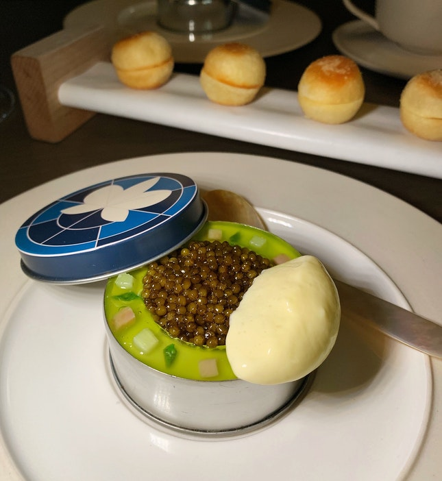 The Opening Course Of Caviar