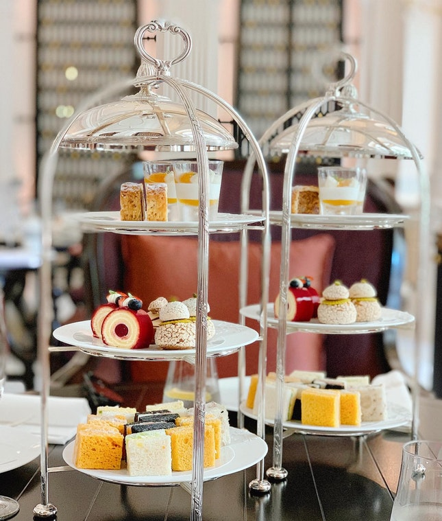 The New Raffles Afternoon Tea ($68++ per pax)