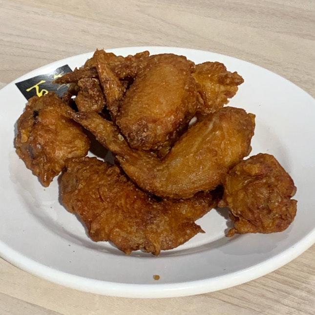 Fried Chicken Wings ($6)