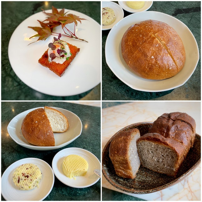 The Japanese Executive Chef Is A Bread Master.
