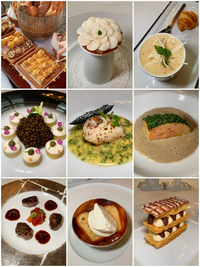 "The ""Menu Le Formule"" Featuring The Best Of Autumn (Lunch: $158++ Per Pax)"