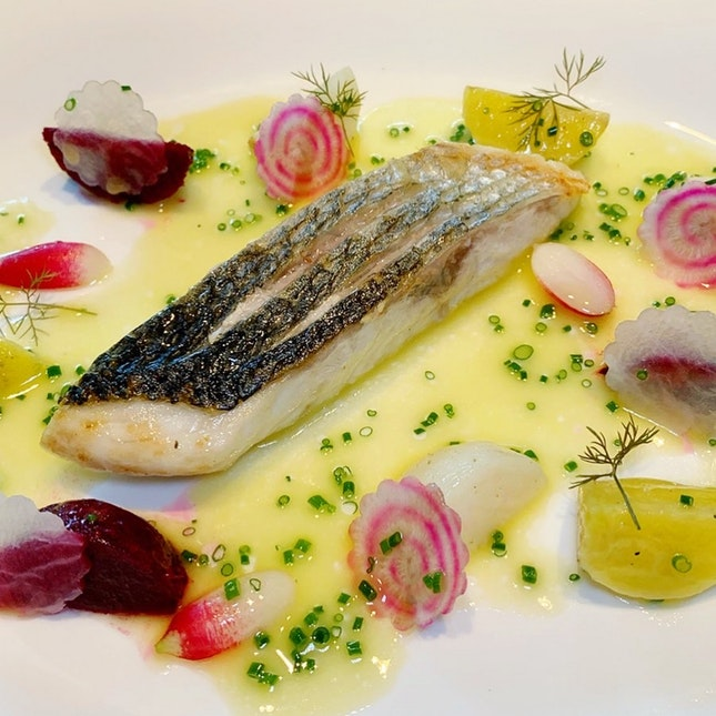 Loved The Italian Seabass - One Of The Degustation Menu: $78 / $108 / $138 before taxes)