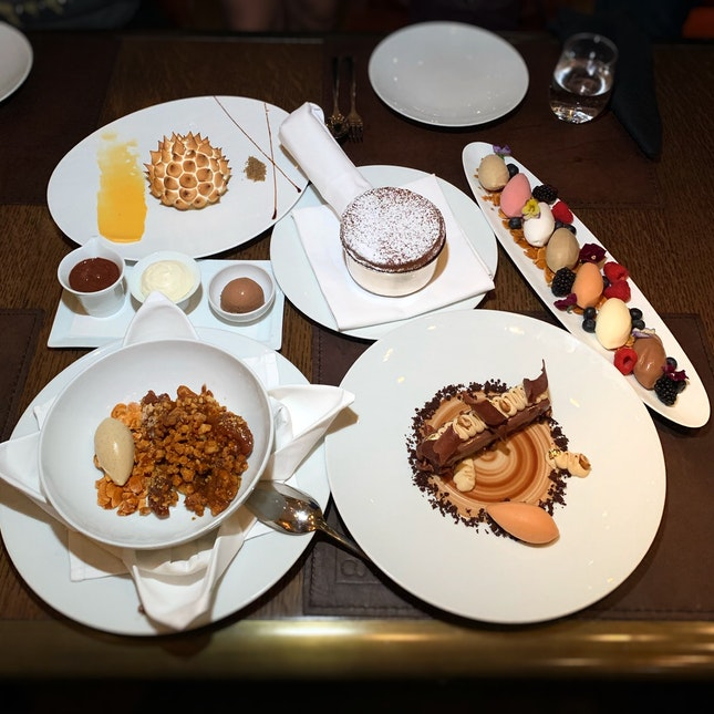 """One Of Everything Please."" ($24++ Per Dessert)"