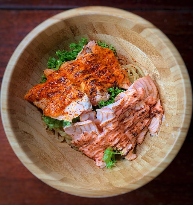 """Use """"VERONICAPHUA10"""" To Enjoy 10% Off Their Salmon Bowls (Valid Until 30th April 2020)."""