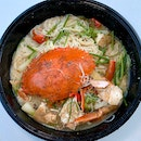 Steamed Crab with White Beehoon ($68)