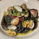 New Pasta: The Tonnarelli Vongole ($29)