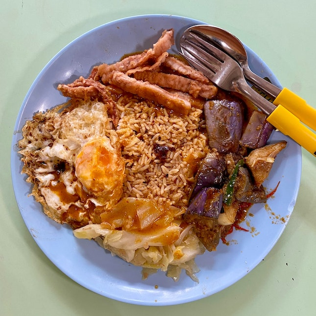 """I didn't know Old Airport Road Food Centre has a really decent """"Curry Png"""" till a few days ago."""