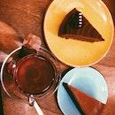 Chocolate Mousse & Caramel Cake