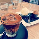 Top quality ice soy #latte and #affagato!