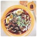 20130603 鸭粿条汤+蛋+大肠!