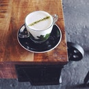 20140525 In love w this cup of matcha-tone.