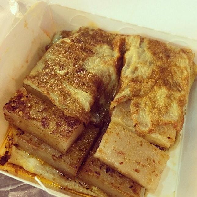 Carrot cake + egg = 😍 #taiwan #taichung #nightmarket #eatandeat #dinner #一中街