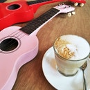 Your next morning cup of coffee could be in this casual cafe for ukelele enthusiasts!