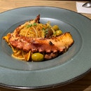 Braised Octopus Pasta ($29++)